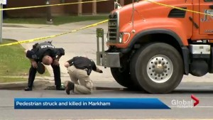 Elderly man struck and killed at Markham intersection
